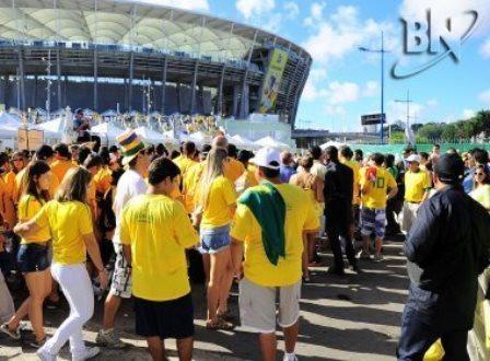 Salvador: Índios e estudantes receberão quatro mil ingressos para assistir a jogos da Copa