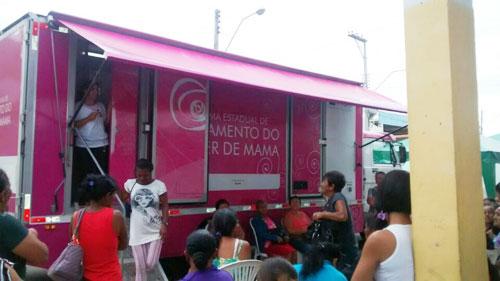 Programa de Rastreamento Contra o Câncer de Mama atendeu mais 500 pessoas