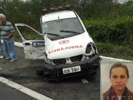 Acidente na BR-101 envolvendo ambulância resulta na morte de pai e filha