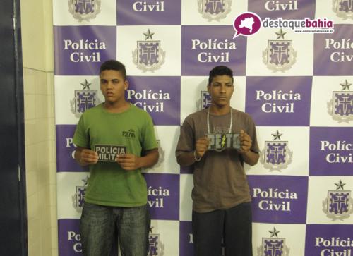 Suspeitos com drogas são detidos no centro da cidade