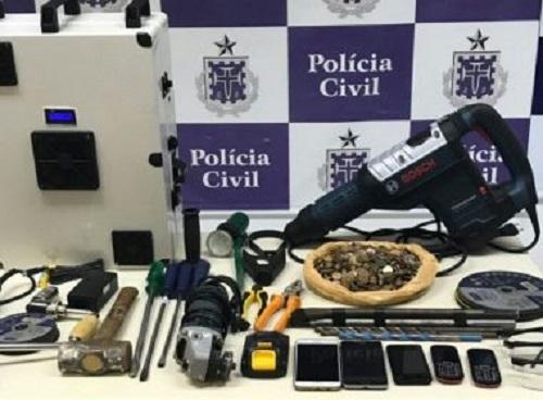 SSP aponta redução de 17,5% em roubos a banco na Bahia entre janeiro e maio deste ano