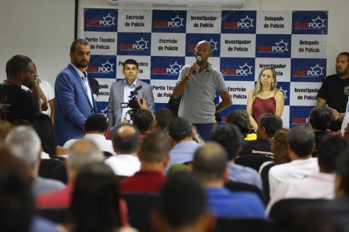 Policiais Civis e Penais decidem parar por 48h na próxima segunda-feira, 27