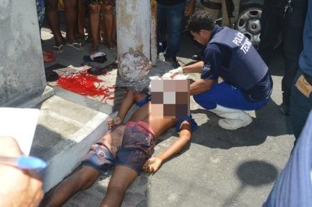 Feira de Santana: Homem é executado com o filho no colo