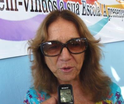 Mensagem da diretora da ENSF, Maria José Meirelles (Tia Zé) pela passagem de Charles Muller