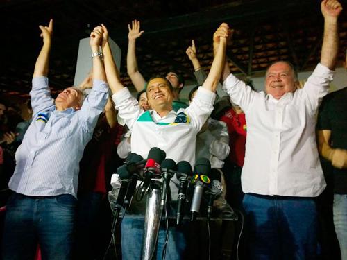 'Quero uma Bahia mais moderna', diz Rui Costa durante discurso de vitória