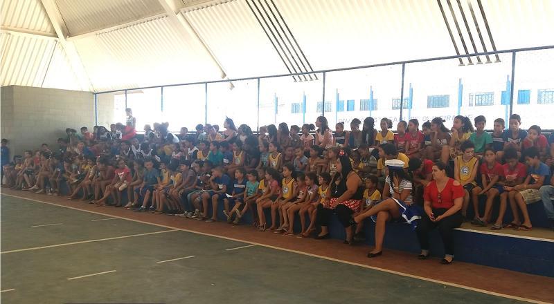 Núcleo de Cidadania dos Adolescentes promove ações em alusão ao Dia da Criança