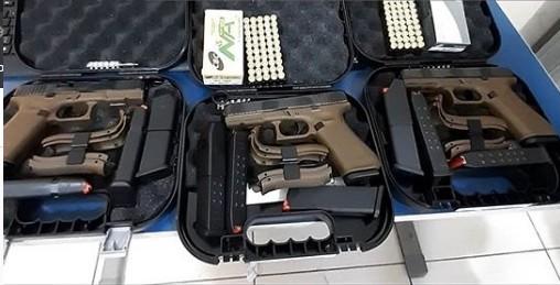 34ª CIPM/Brumado recebe novas pistolas importadas -