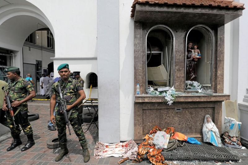 Estado Islâmico reivindica autoria de atentados no Sri Lanka