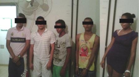 MACAÚBAS: PM desarticula quadrilha, faz apreensões de drogas e objetos roubados
