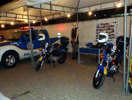 2ª CIPRV participa ativamente do 1º Encontro Nacional de Motociclistas