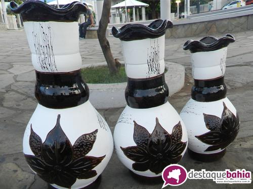 Lindos Vasos estão sendo vendidos a preço de fábrica na Praça da Prefeitura