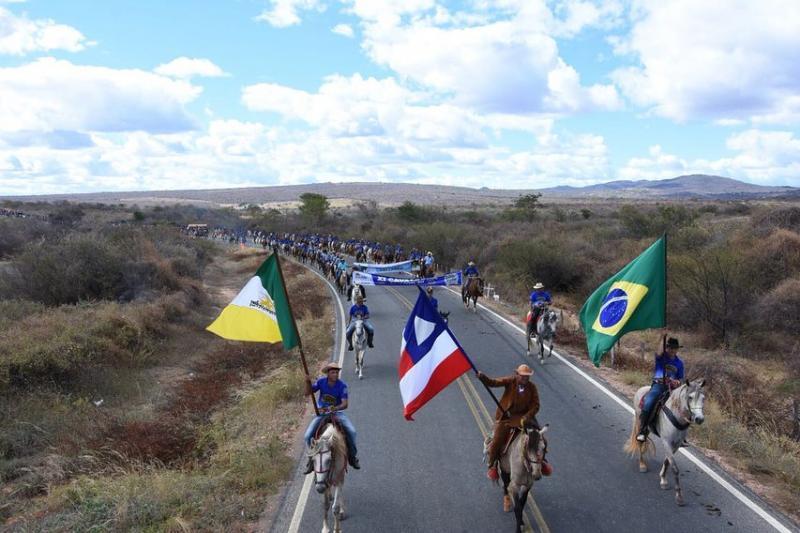 Assista o vídeo: XI Cavalgada de Guajeru foi um sucesso