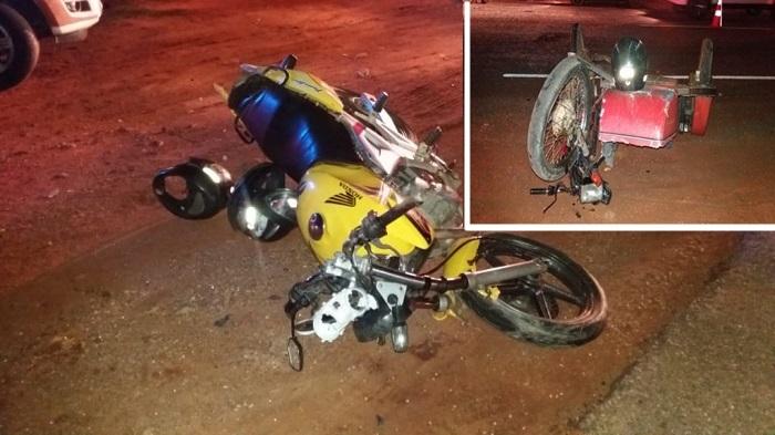 Brumado: Três pessoas ficam feridos em acidente envolvendo motocicletas na BA-148 em Lagoa Funda