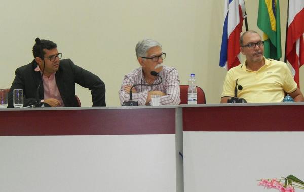 Com o Deputado Federal Erivelton Santana e o prefeito Eduardo Vasconcelos, Márcio Moreira se reúne com lideranças rio-antonienses para apresentar seu nome como pré-candidato a Deputado Estadual