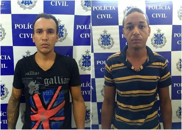 Polícia Civil cumpre mandados de prisão de dois investigados por roubo em Dom Basílio