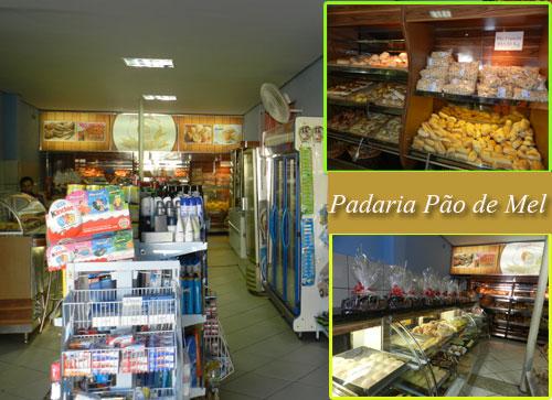 Padaria Pão de Mel, variedade de produtos e preços populares