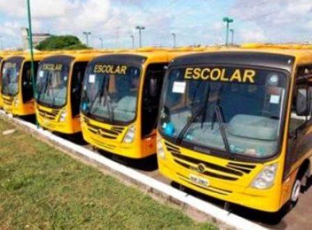 Vinte ônibus para transporte escolar de prefeituras do interior são furtados no CAB