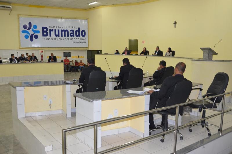Sessão de encerramento dos trabalhos legislativos da Câmara de Brumado acontecerá na quarta-feira, 20 de dezembro