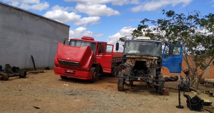 Guanambi: Polícia Militar desarticula quadrilha responsável por receptação de caminhões furtados
