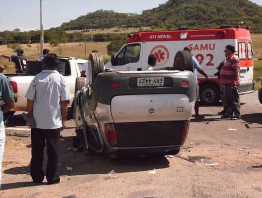 Vereadora de Malhada se envolve em acidente e seu estado é grave