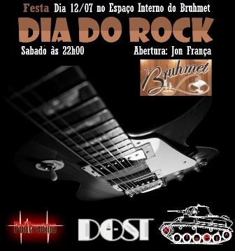 Sábado (12), Brumado terá a Festa do Dia do Rock