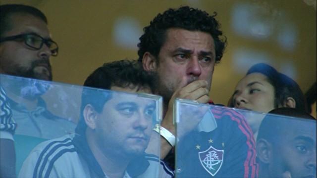 Abatido, Fred diz que jogará a Série B: 'Cumpro o meu contrato até o fim'