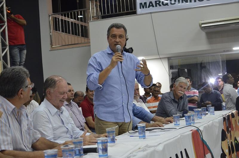 Caravana de Rui Costa visita Brumado em ato do Programa de Governo Participativo