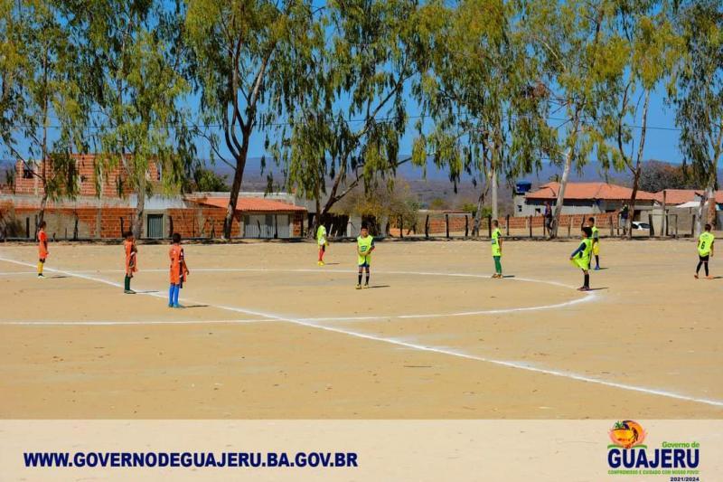 Jovens talentos do futebol são selecionados em Guajeru pela empresa Futebol em Foco