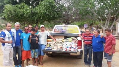 Centro de recuperação evangélico recebe doações de alimentos