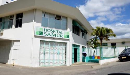 Homens tentam assaltar hospital Samur e só conseguem roubar R$ 2