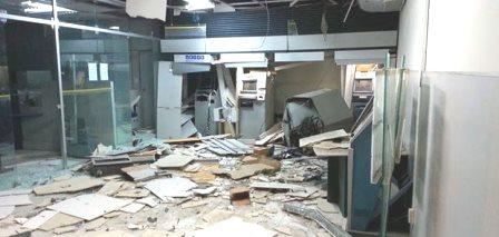 Itapicuru: Bandidos explodem agência bancária