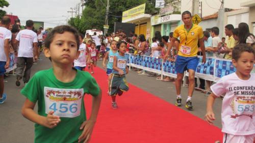 Foi realizada a 11º edição da Maratoninha