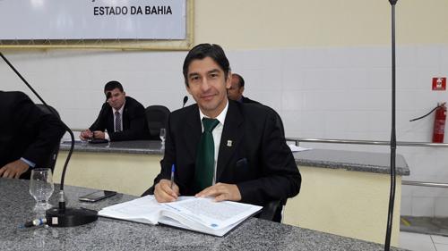 Vereador Dudu Vasconcelos pode se afastar novamente dos trabalhos legislativos para tratamento de saúde