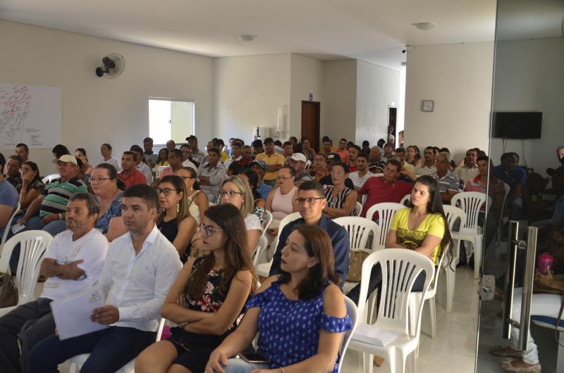 Conferência inicial para o Plano de Saneamento Básico é realizada e Guajeru