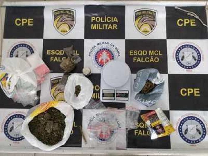Três pessoas são presas com dinheiro proveniente do tráfico de drogas em Vitória da Conquista