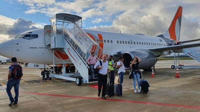 Bahia amplia malha aérea com voo da Gol entre Guarulhos e Vitória da Coquista