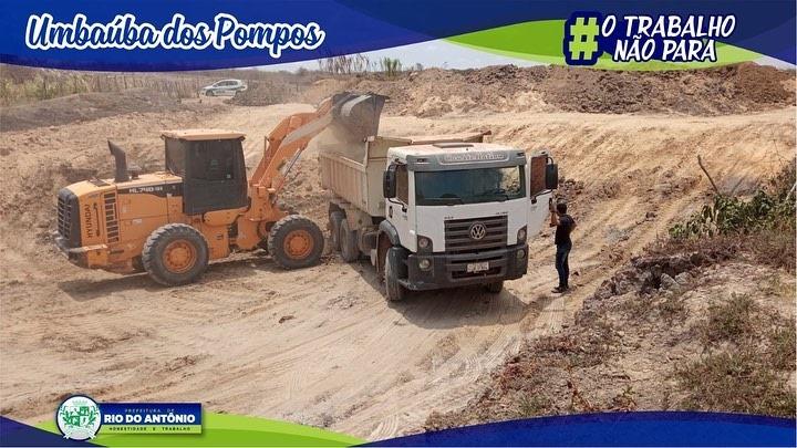 Limpeza de aguada é realizada na comunidade de Umbaúba dos Pompos, em Rio do Antônio