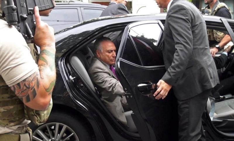 Michel Temer e Moreira Franco passam 1ª noite em prisões no RJ; ex-presidente deve depor hoje