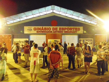 Ginásio de Esportes Antônio Imbassahy é reinaugurado após reforma