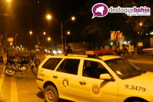 Onda de assaltos leva polícia a intensificar blitz em vários pontos da cidade