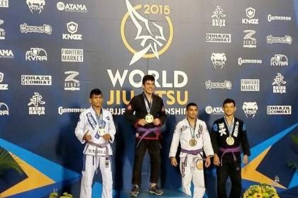 Esporte: Conquistense é campeão mundial no Jiu-jítsu