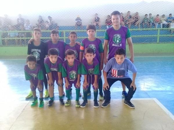 Associação Esportiva Renovação realiza Copa sub 9 de futsal em Aracatu com apoio da prefeitura