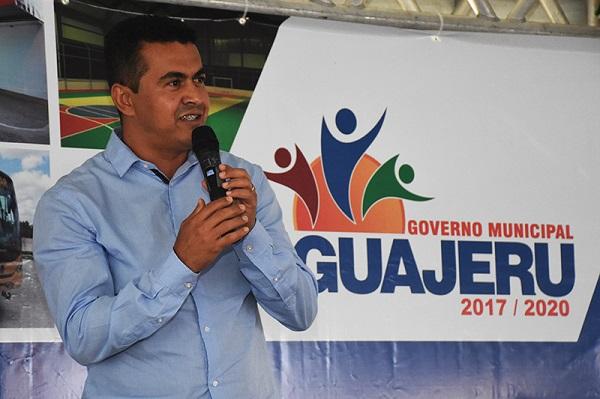 Prefeito Gil Rocha parabeniza Guajeru pelos 33 anos de emacipação