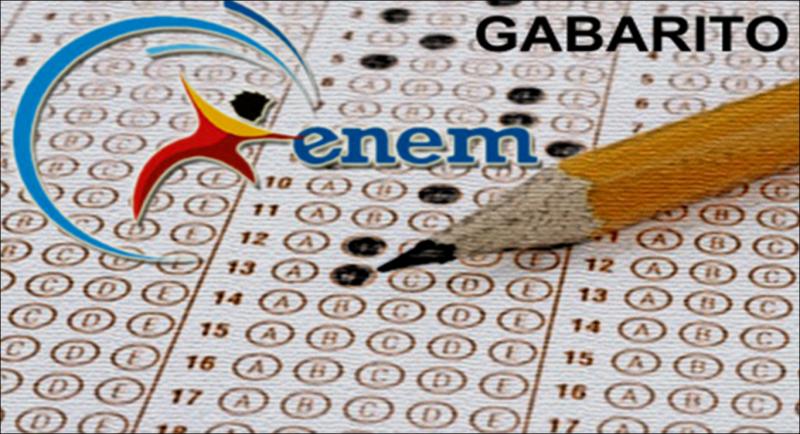 Gabarito do Enem já está disponível; resultado sai em 18 de janeiro