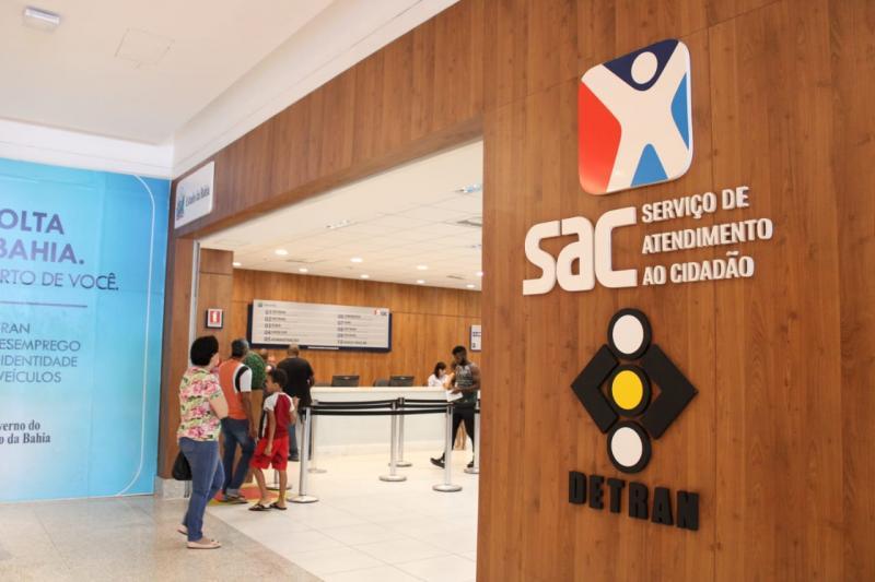Agendamento de serviços do Detran deve ser realizado no SAC Digital