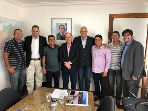 Barra da Estiva: prefeito cumpre agenda em Salvador em prol de benefícios para o município