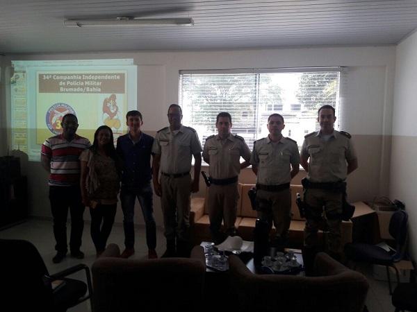 Programa de resistência as drogas e a violência será ampliado pela 34ª CIPM para atender Ituaçu e Barra da Estiva