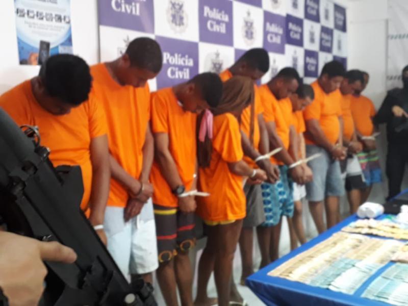 Megaoperação localiza 14 criminosos envolvidos com tráfico, homicídios e roubos na Bahia