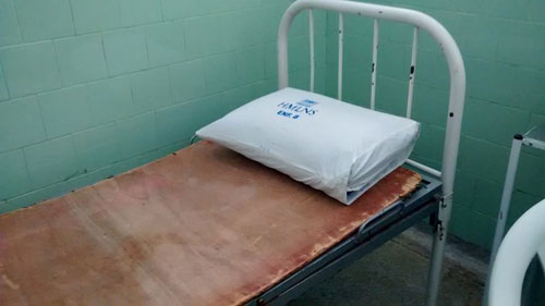 'coisas que do lado de fora não se vê', internauta denuncia estado precário do Hospital Municipal