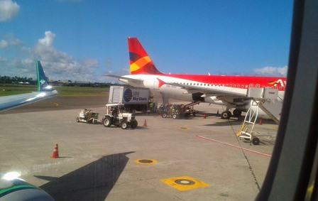 SALVADDOR: PF prende homem já dentro de avião por suspeita de atentado com bombas